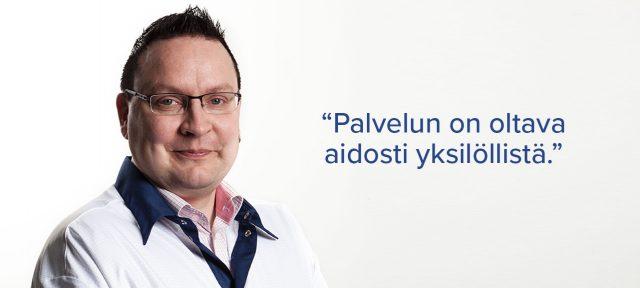 Elektropoint Sami Kilpeläinen liiketoiminnan kehityspäällikkö